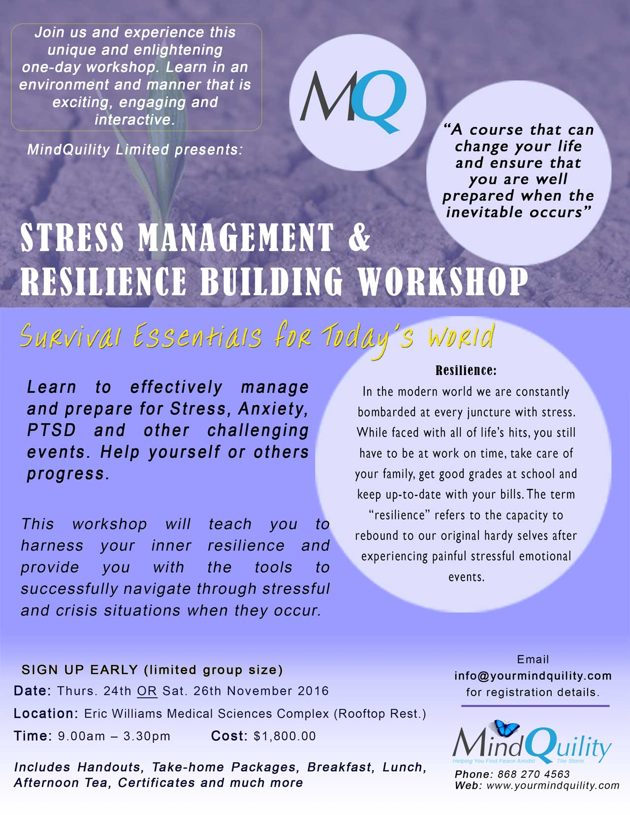 Stress Management & Resilience Building Workshop